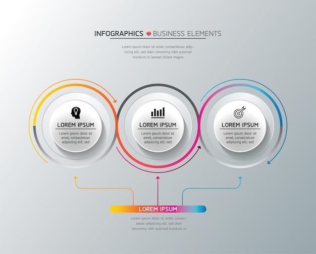 Elementos para presentación infográfica y gráfico.