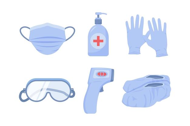 Elementos de protección de equipos de virus.