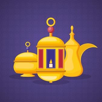 Elementos de ramadán