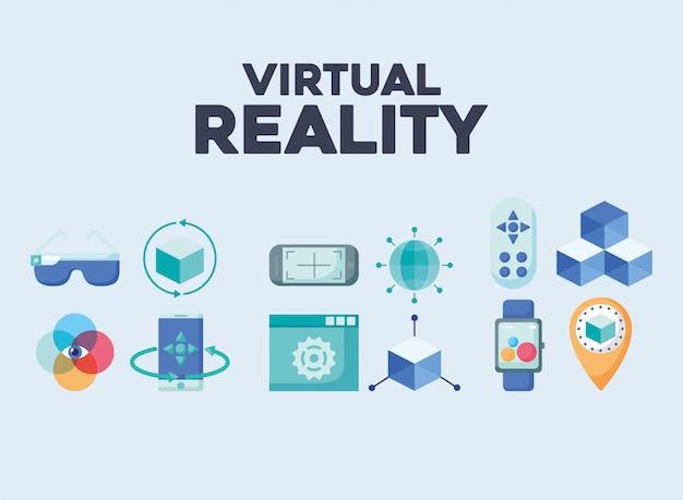 Elementos de realidad virtual.