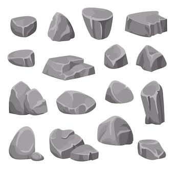 Elementos de rocas y piedras