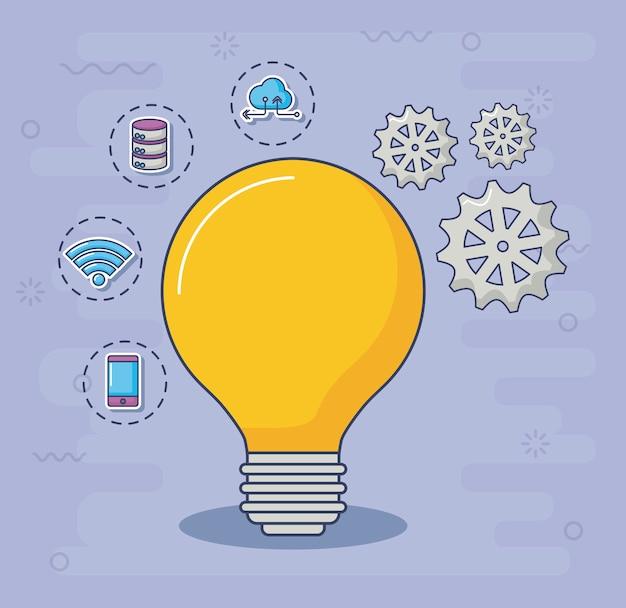 Elementos de tecnología e innovación.