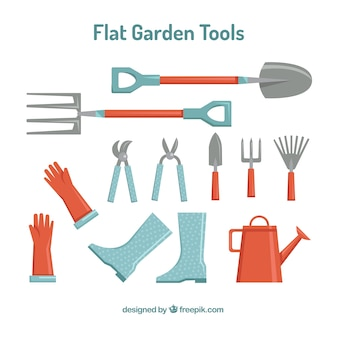 Elementos útiles de jardín