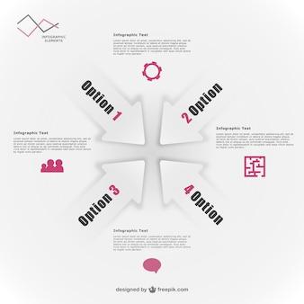 Elementos vectoriales infográficos gratis