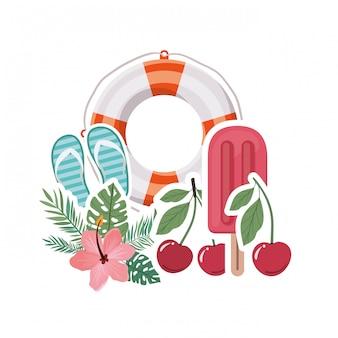 Elementos de verano