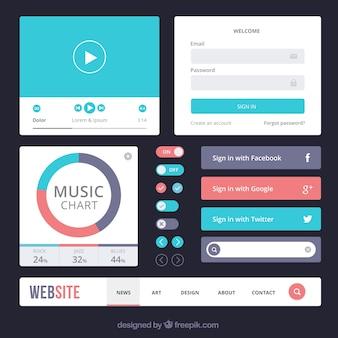 Elementos de web estilosos