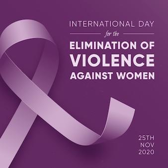 Eliminación de la violencia contra la mujer - cinta de sensibilización