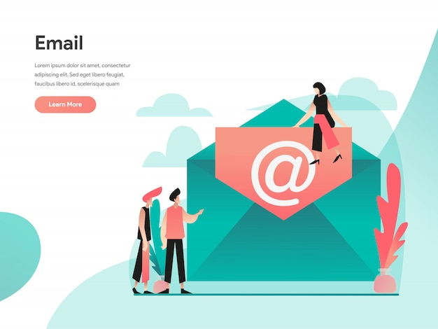 Email web banner