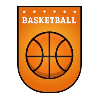 Emblema de baloncesto