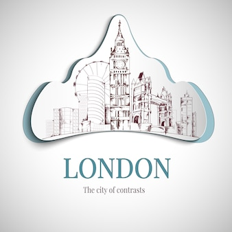 Emblema de la ciudad de londres
