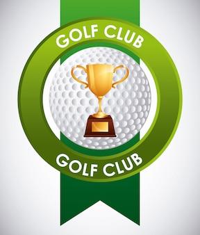 Emblema del club de golf