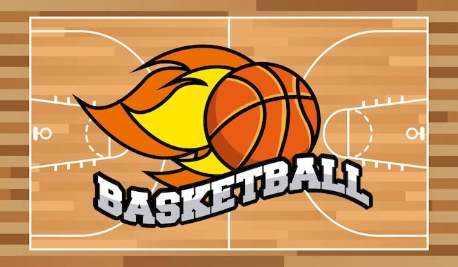 Deportes De Pelota Descargar Vectores Gratis: Siluetas De Jugadores De Baloncesto Con Pelota De Color