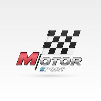 Emblema del deporte del motor