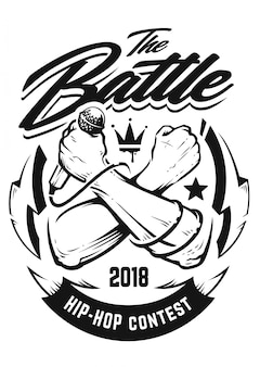 Emblema de hip-hop
