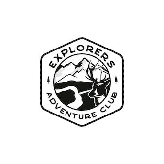 Emblema del logotipo de los exploradores
