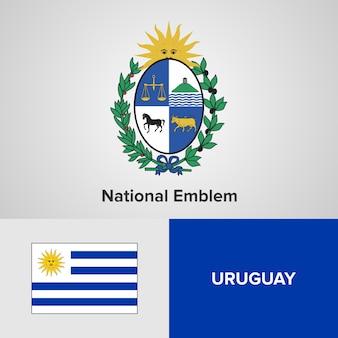 Emblema nacional de uruguay y bandera