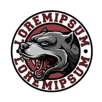 Emblema del perro