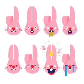 Emoji de conejo