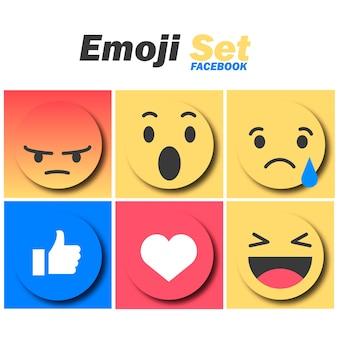 Emoji set facebook