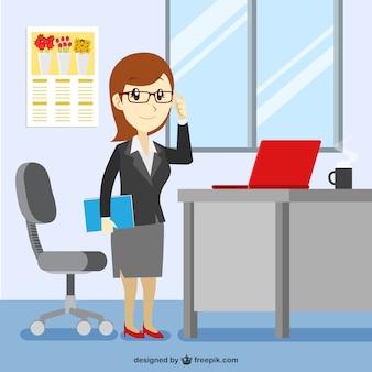 Empleada de oficina