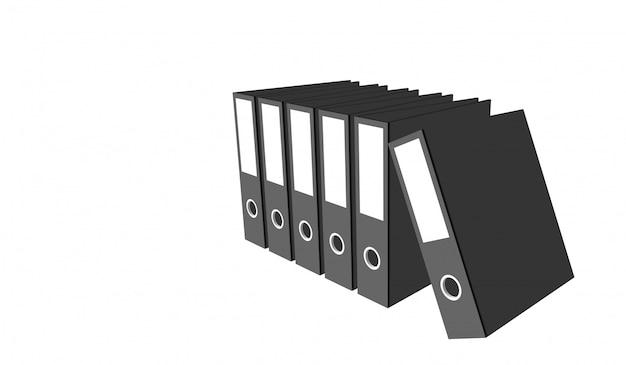 Empresa de archivo de documento de vector