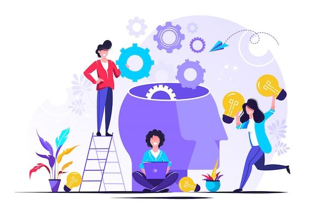 La empresa se dedica a la búsqueda conjunta de ideas