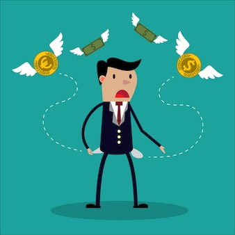 Empresario no tiene dinero