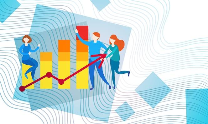 Empresarios banca contable finanzas negocio datos