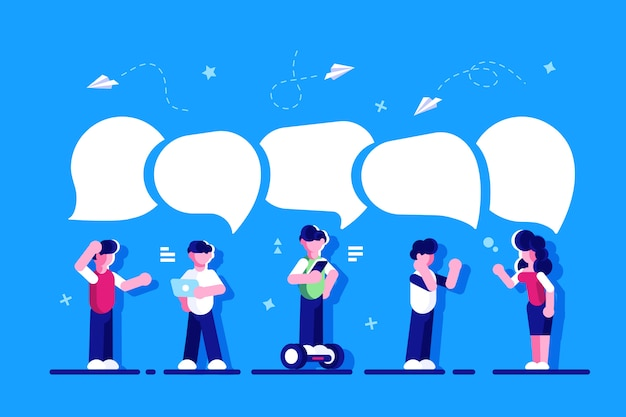 Empresarios discuten red social