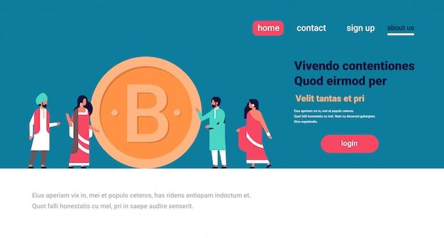 Empresarios indios minería bitcoin banner