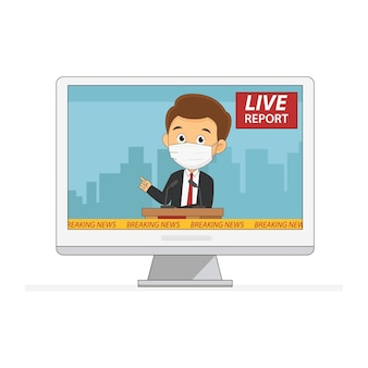 Las empresas de live report están en auge a través de la pandemia