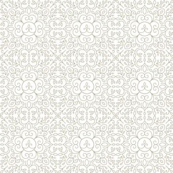 Encaje, patrón floral abstracto sin fisuras, fondo