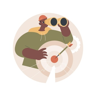 Encontrar ilustración de clientes potenciales