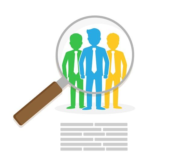 Encontrar persona para la oportunidad de trabajo