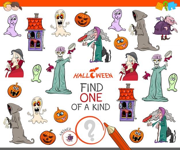 Encuentra un juego único con personajes de halloween