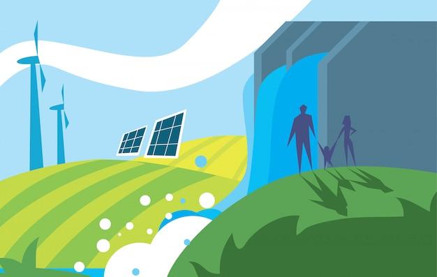 Energía de energía limpia