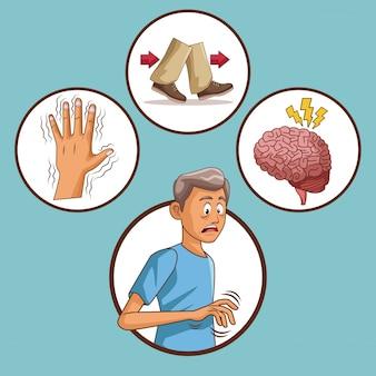 Enfermedad de la enfermedad de parkinson