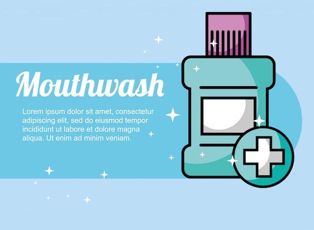 Enjuague bucal cuidado dental
