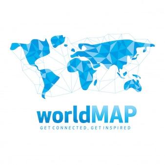 Enlaces del mapa mundial
