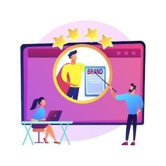 Entrenador de branding de identidad. curso de superación personal, reputación de la personalidad, aumento de la autoestima. webinar de mentoría online sobre posicionamiento personal