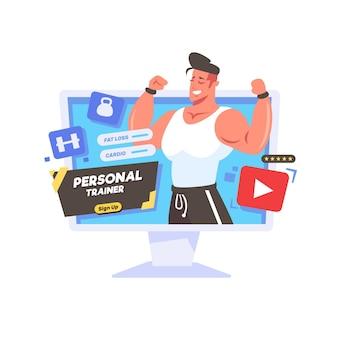 Entrenador personal en línea