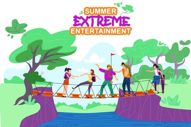 Entretenimiento extremo de verano