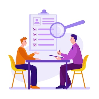 Entrevista proceso de empleo selección de candidatos servicio de contratación y colocación