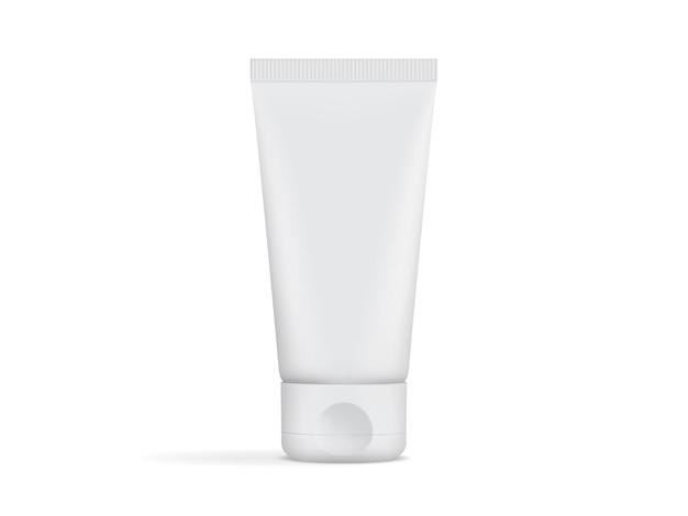 Envase de tubo de crema aislado
