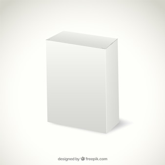 Envases de cartón blanco