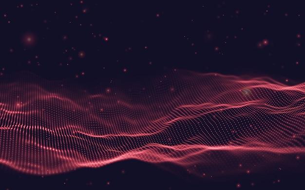 Eps 10. fondo de tecnología blockchain.
