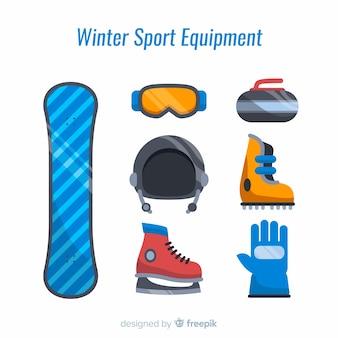 Equipamiento de deporte de invierno