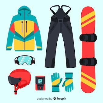 Equipamiento para deporte de invierno