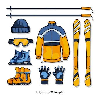 Equipamiento deportivo de invierno
