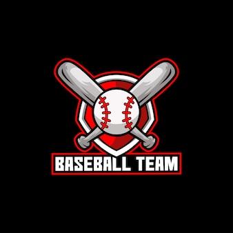 Equipo de béisbol pelota deporte americano jugar bat